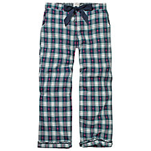 Buy Fat Face Heart Check Pyjama Bottoms, Twilight Online at johnlewis.com