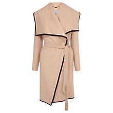 Buy Coast Belarus Waterfall Coat, Neutral Online at johnlewis.com