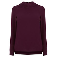 Buy Warehouse Cornelli Trim Top Online at johnlewis.com