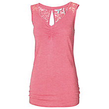 Buy Fat Face Lucy Lace Pyjama Vest Online at johnlewis.com