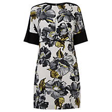 Buy Warehouse Graphic Floral Shift Dress, Multi Online at johnlewis.com