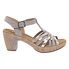 Buy Gabor Cheri Wide Fitting Block Heeled Sandals Online at johnlewis.com