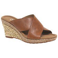 Buy Gabor Purpose Wide Slip On Wedge Heeled Sandals Online at johnlewis.com