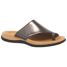 Buy Gabor Lanzarote Slip On Sandals Online at johnlewis.com
