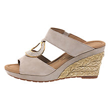 Buy Gabor Sizzle Wide Slip On Wedge Heeled Sandals Online at johnlewis.com