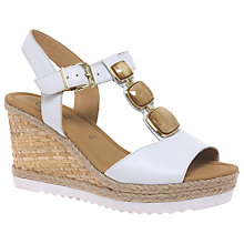 Buy Gabor Palais Wedge Heeled Sandals Online at johnlewis.com
