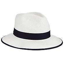 Buy Christys' Classic Down Brim Panama Hat, Cream Online at johnlewis.com