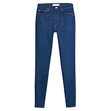 Buy Mango Super Slim Fit Andrea Jeans, Ink Blue Online at johnlewis.com