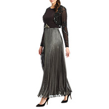 Buy Ariella Dalia Sequin Bolero, Black Online at johnlewis.com