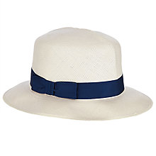 Buy Olney Brisa Folding Panama Hat, Natural Online at johnlewis.com