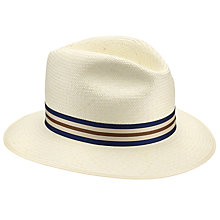 Buy John Lewis Drop Brim Panama Hat, Natural Online at johnlewis.com