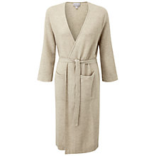 Buy Pure Collection Orford Purist Cashmere Robe, Natural Online at johnlewis.com