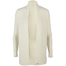 Buy Ted Baker Florii Textured Cashmere Cardigan, White Online at johnlewis.com