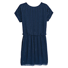 Buy Mango Crystal Beaded Dress, Dark Blue Online at johnlewis.com