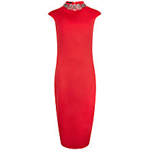 Buy Ted Baker Gorgiya Embellished Neckline Dress Online at johnlewis.com