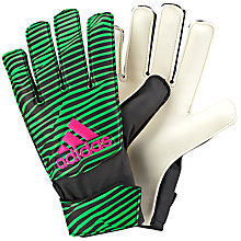Buy Adidas X Training Goalkeeper Gloves, Green Online at johnlewis.com