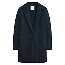 Buy Mango Wool Coat, Dark Grey Online at johnlewis.com