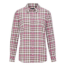 Buy Viyella Check Shirt, Pink Online at johnlewis.com