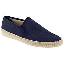 Buy Kin by John Lewis Tonal Espadrilles, Navy Online at johnlewis.com