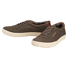 Buy Barbour Wallsend Cupsole Trainers, Olive Online at johnlewis.com