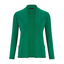 Buy Viyella Petite Merino Cardigan, Green Online at johnlewis.com