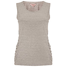 Buy Phase Eight Gigi Gathered Vest Top, Silver Marl Online at johnlewis.com