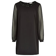 Buy Planet Beaded Tunic, Black Online at johnlewis.com