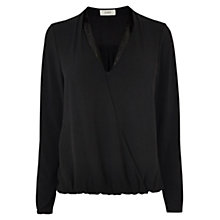 Buy Coast Tasha Top, Black Online at johnlewis.com