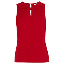 Buy Coast Azaleya Twist Top, Red Online at johnlewis.com