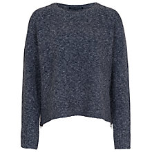 Buy French Connection RSVP Now Zip Detail Jumper Online at johnlewis.com