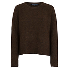 Buy French Connection RSVP Now Zip Detail Jumper, Turtle Online at johnlewis.com
