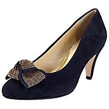 Buy John Lewis Made in England Ashford  Wide Fitting Bow Detail Court Shoes Online at johnlewis.com