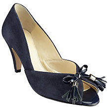 Buy John Lewis Made in England Wide Peep Toe Court Shoes Online at johnlewis.com