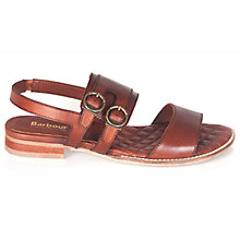 Buy Barbour Sadie Double Buckle Sandals Online at johnlewis.com