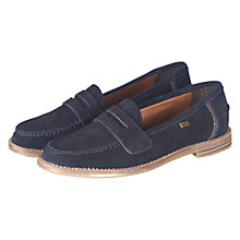 Buy Barbour Briony Low Block Heeled Loafer Online at johnlewis.com