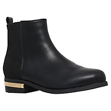 Buy Carvela Tristan Block Heeled Ankle Boots, Black Online at johnlewis.com