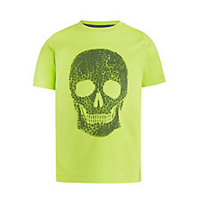 Buy Kin by John Lewis Boys' Skully T-Shirt, Green Online at johnlewis.com