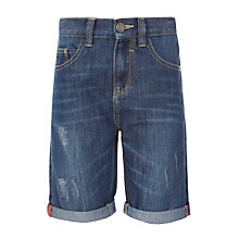 Buy Kin by John Lewis Boys' Denim Shorts, Blue Online at johnlewis.com