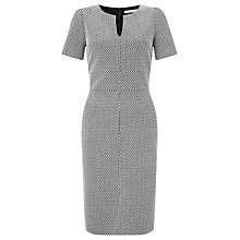 Buy John Lewis Jolie Dress, Black/White Online at johnlewis.com