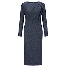 Buy John Lewis Capsule Collection Lucie Bark Print Dress, Navy Online at johnlewis.com