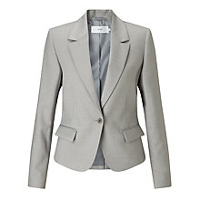 Buy John Lewis Josie Tailored Jacket, Silver Grey Online at johnlewis.com