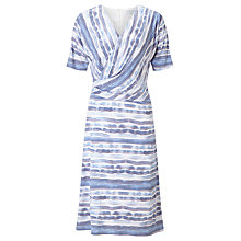 Buy John Lewis Capsule Collection Ocean Stripe Jersey Dress, Blue Online at johnlewis.com
