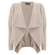 Buy Mint Velvet Chunky Cardigan, Pale Pink Online at johnlewis.com