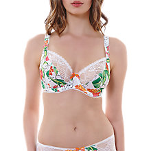 Buy Freya Utopia Plunge Balcony Bra, White Online at johnlewis.com