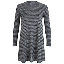 Buy Miss Selfridge Petite Swing Dress, Grey Online at johnlewis.com