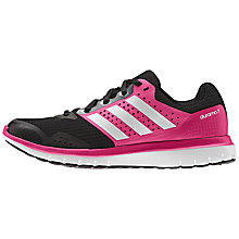 Buy Adidas Duramo 7 Women's Running Shoes, Pink/Black Online at johnlewis.com