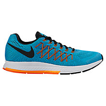 Buy Nike Air Zoom Pegasus 32 Running Shoes, Blue/Black Online at johnlewis.com