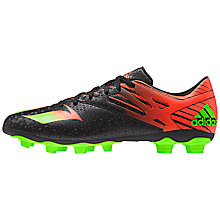 Buy Adidas Messi 15.4 Turf Football Shoes, Black Online at johnlewis.com