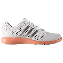 Buy Adidas Arianna 3 Women's Training Shoes, White/Silver/Orange Online at johnlewis.com