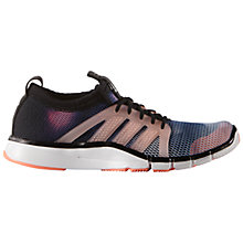 Buy Adidas Core Grace Core Cross Trainers, Core Black/Sun Glow Online at johnlewis.com
